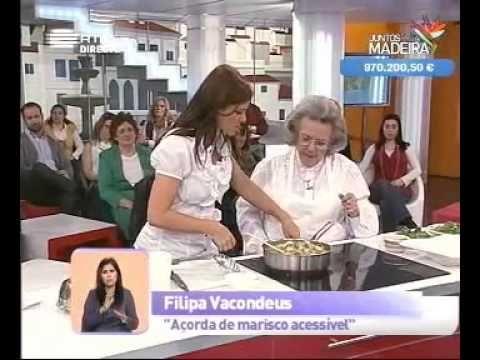 """798SHARESPartilhar DicaTwitter Filipa #Vacondeus – A Mulher dos cozinhados simples e económicos. A chef que não gostava de ser chamada de chef e que sempre fez MUITO com pouco. A mulher foi mas a sua obra prevalecerá… """"Foi a cozinheira que nos ensinou que a gastronomia, para ser boa..."""