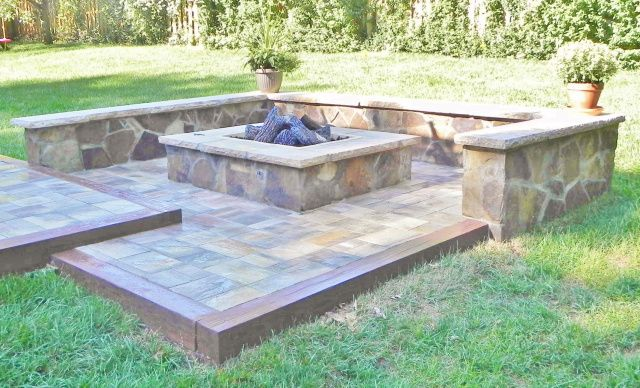 Best 25 Stone Fire Pits Ideas Only On Pinterest Firepit