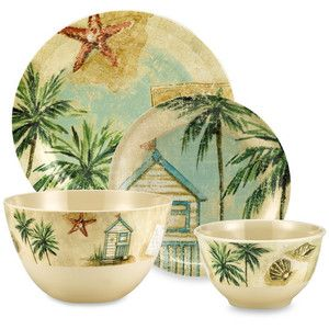 tropical dinner plate - Google Search