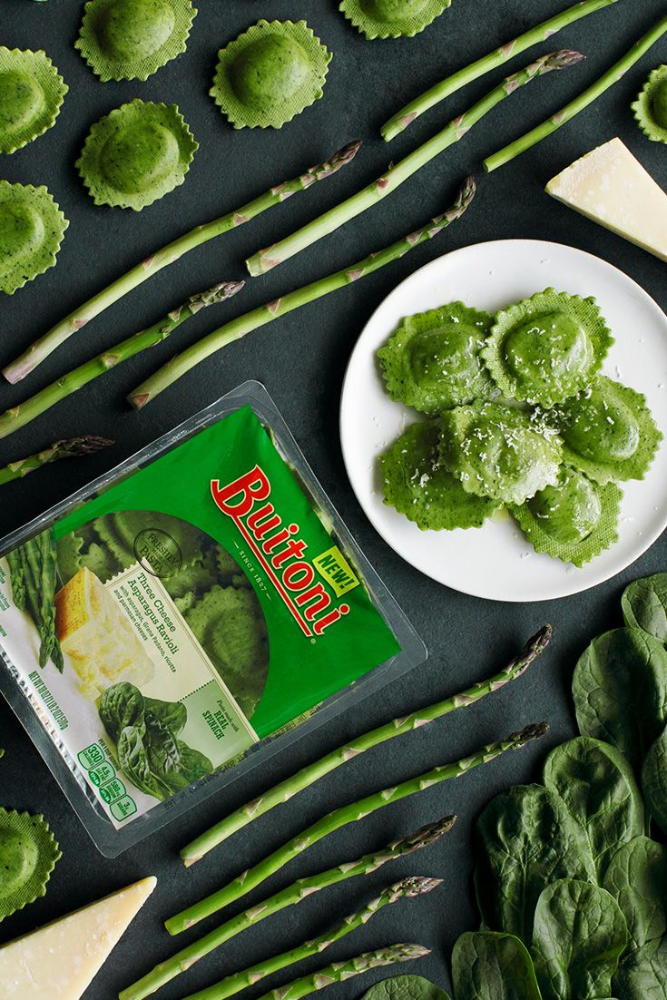 50 best veggie pasta recipes images on pinterest veggie pasta green never tasted so good try buitonis vegetable infused three cheese asparagus ravioli with spinach folded right into the dough just cook as directed ccuart Image collections