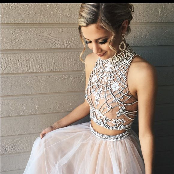 Sherri Hill Dresses - Sherri Hill Prom Dress Size 0 Two Piece