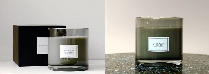 Rosewood, bougie parfumée Rive Sud Interior / Rive Sud Interior scented candle #rivesudinterior #candle #luxurycandle #scentedcandle #bougie