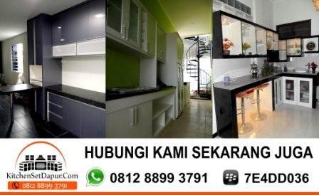 JASA PEMBUATAN KITCHEN SET BOGOR: Jasa Pembuatan Kitchen Set Murah Bogor