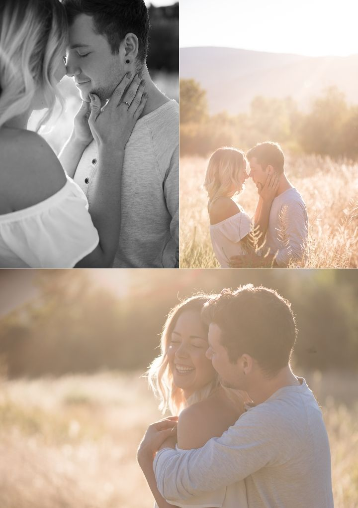 Catching morning golden hour with this dreamy couples session