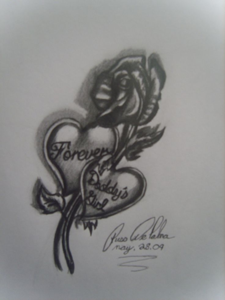 Daddy's Girl Tattoos Designs | Forever daddys girl by bloodwolf81 on deviantART