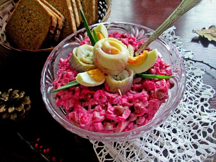 Gosia gotuje: Cygany, czyli sałatka Wileńska