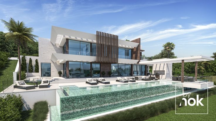 New Modern Villa designed by Laura Jiménez Conde and developed By Nok, beautifull, right?!