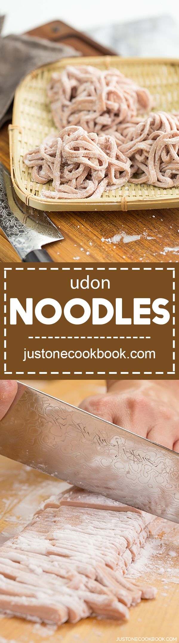 Homemade Udon Noodles (手打ちうどん) | Easy Japanese Recipes at JustOneCookbook.com