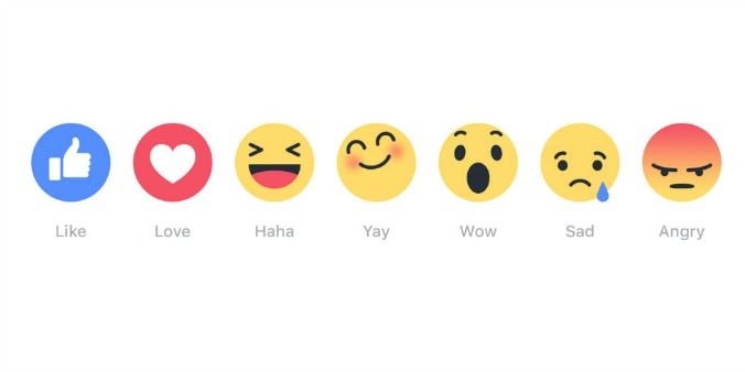 """Facebook reveals what's really going on with that """"dislike"""" button with six new emoji options."""