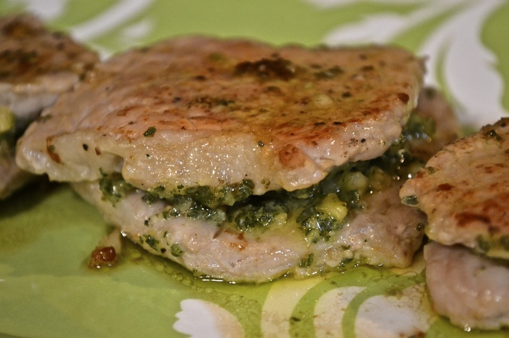 """Point-less"""" Meals: Pork Loin with White Wine and Sage Pesto"""