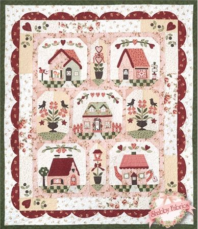Follow Your Heart Pattern Set: This quilt is sure to bring your home warmth and love for years to come! The Follow Your Heart quilt finishes to 60  xxx