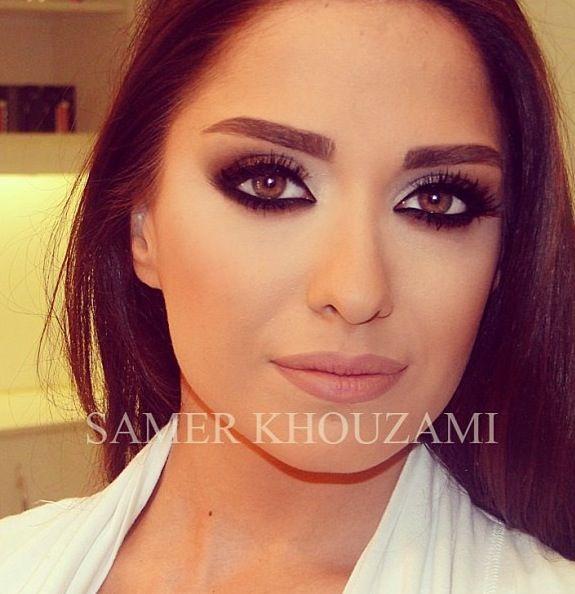 Lebanese MASTER MUA Samer Khouzami... Never ceases to amaze me!