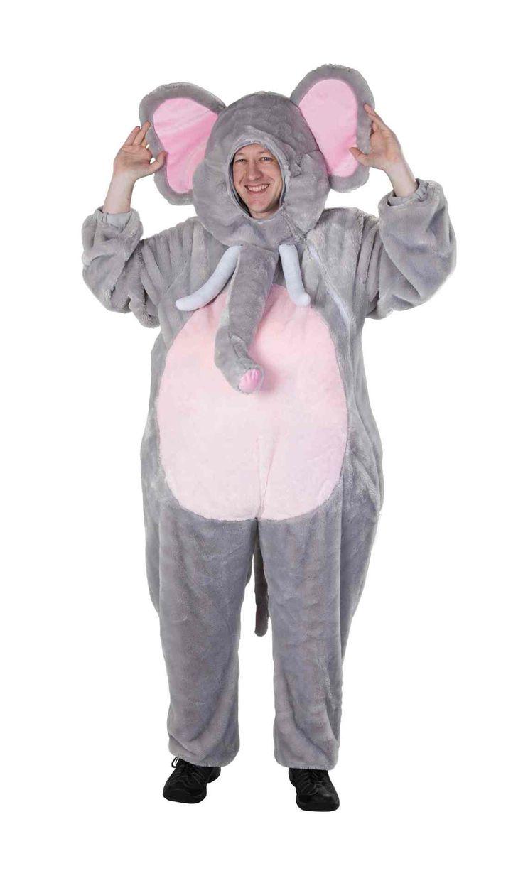 Mit dem Elefanten Kostüm einen elefantastischen Auftritt haben!