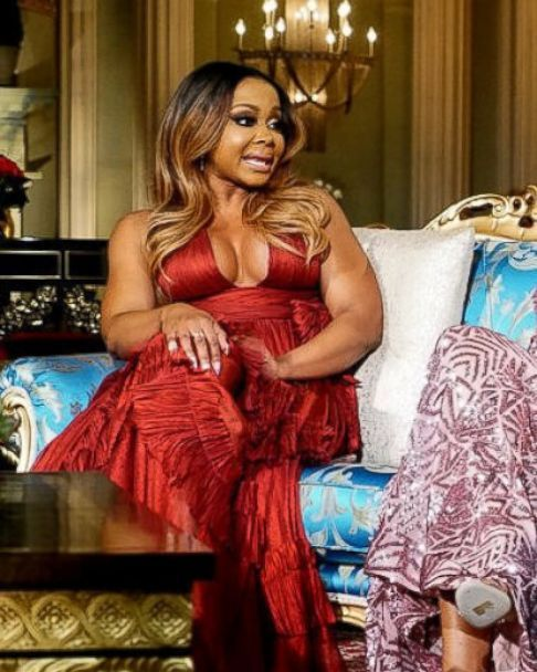 "Photo: phaedra parks, Porsha Williams, Sherry Whitfield and Shamea Morton appear on the real housewives of Atlanta"" reunion show."