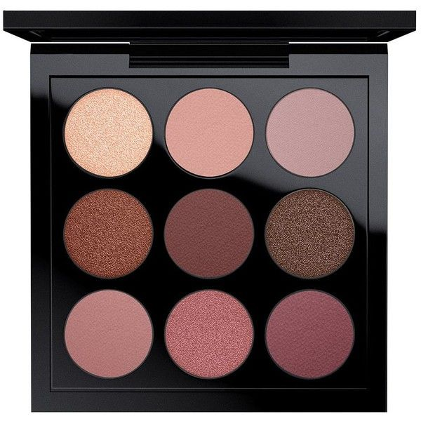 MAC Eye Shadow X 9 found on Polyvore featuring beauty products, makeup, eye makeup, eyeshadow, apparel & accessories, mac cosmetics eyeshadow, palette eyeshadow and mac cosmetics
