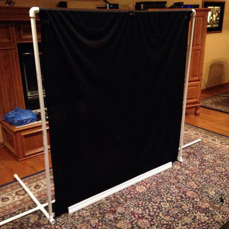 ... DIY Photo Studio Backdrop Stand on diy backdrop stands for photography ...