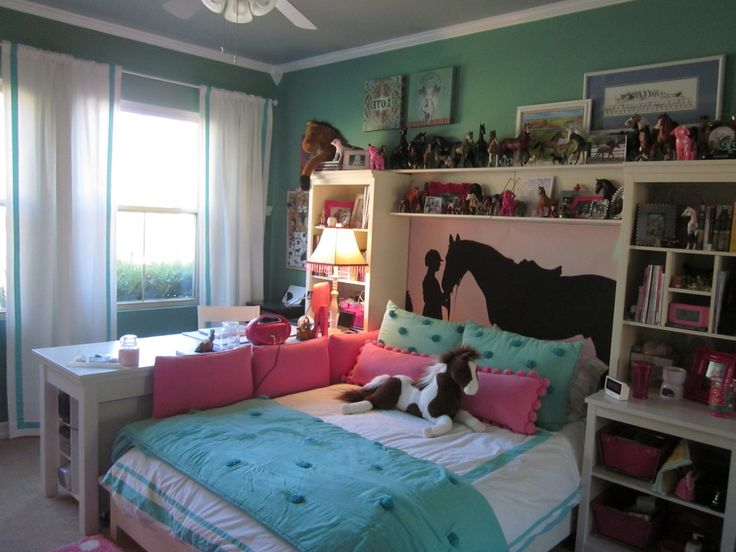 78+ Girls Horse Bedroom Ideas - Interior Design Bedroom Ideas Check more at http://grobyk.com/girls-horse-bedroom-ideas/
