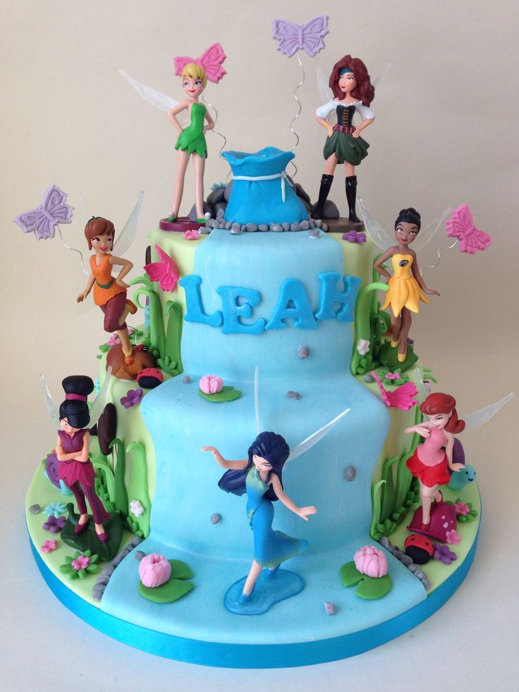 Tinkerbell and the pirate fairy cake