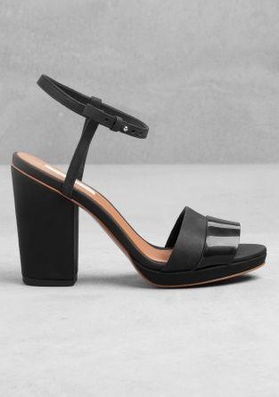 Block Heel Sandals - & Other Stories