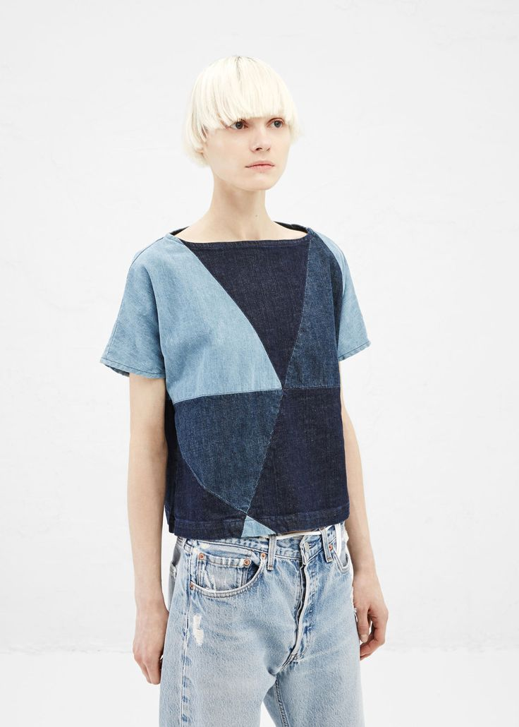 Rachel Comey Composite Top - Denim