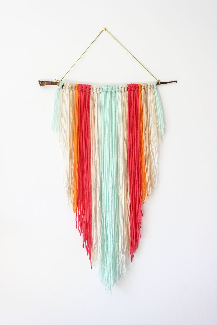 Add some color and whimsy to your walls with bohemian tapestry via luluandgeorgia.com