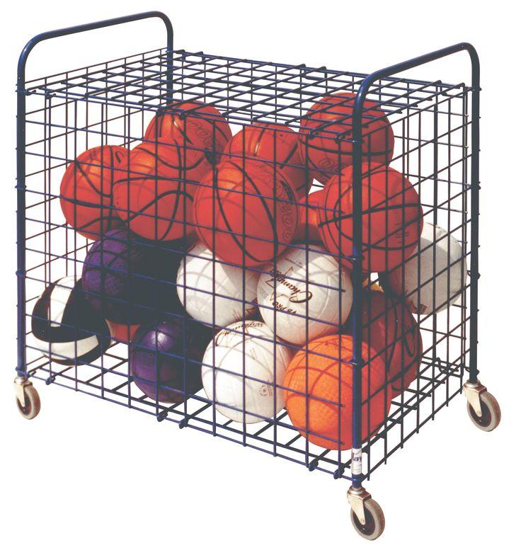 Physical Education: Storage Carts U0026 Lockersu003e Misc. Items Storageu003e Lockable Ball  Storage