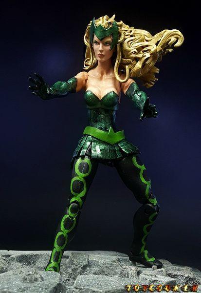 Amora the Enchantress (Marvel Legends) Custom Action Figure