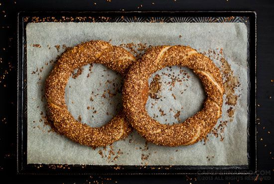 Sourdough Simit Recipe
