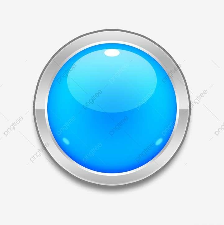 12 Blue Button Png Blue Button Light Icon Blue Square