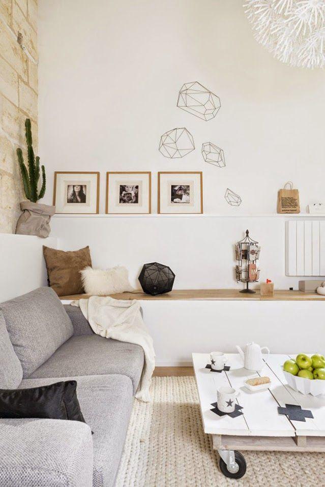 Inspiración deco un duplex de estilo escandinavo en burdeos fichajes deco soft grey