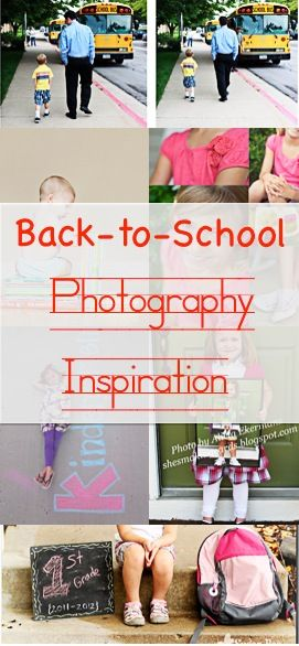 Back-to-School Photography Inspiration