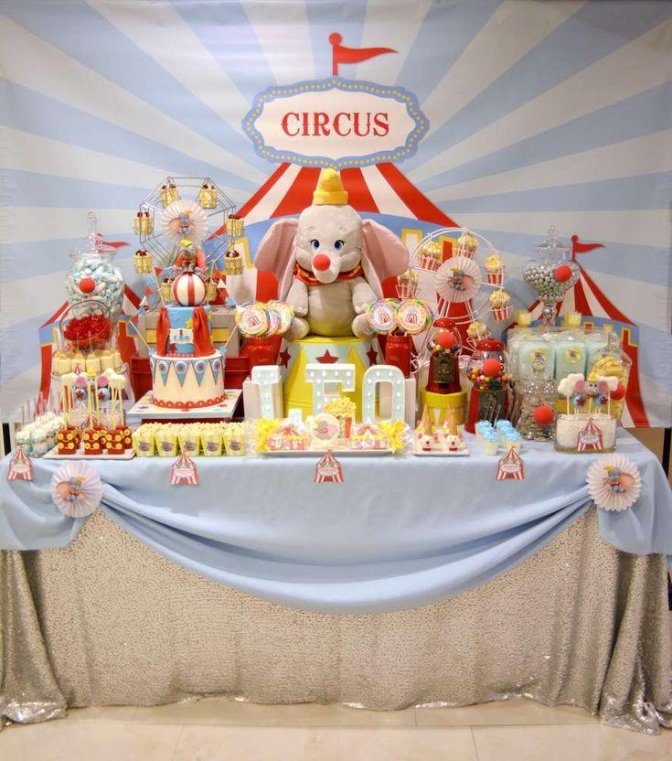 Dumbo Circus First Birthday Circus