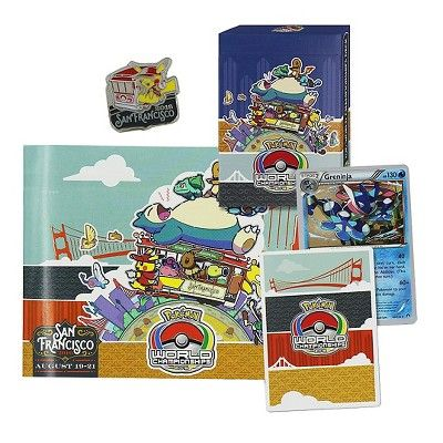 2016 Pokemon Trading Card World Champship Deck featuring Greninja