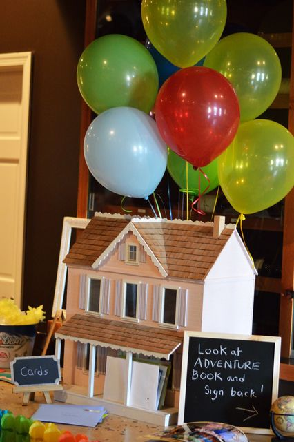 Disney UP Graduation Party Ideas! See more party ideas at CatchMyParty.com!