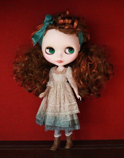 Doll Show vol.44 にて販売。 158000 yen : Sold out. こちらのメイクはカスタムオーダー不可です。