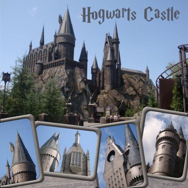 Wizarding World of Harry Potter - Page 3 - MouseScrappers.com