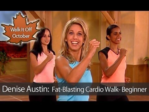 Denise Austin: Fat-Blasting Cardio Walking Workout- Beginner - YouTube LOTS of FREE exercise videos to help you get fit!! BEFIT on youtube!