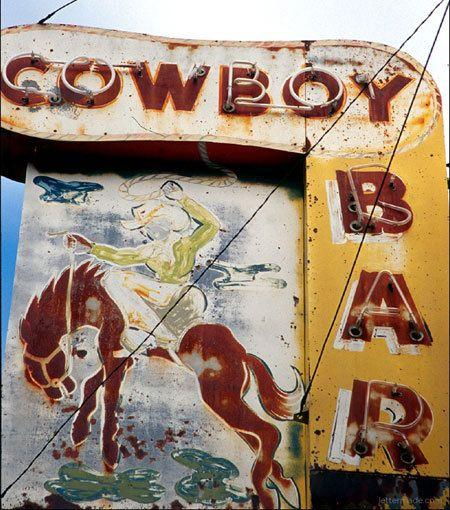 Cowboy Bar....