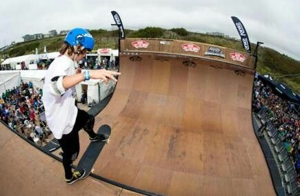 Boardmasters Surf, Skate and Music Festival, Newquay, Cornwall.