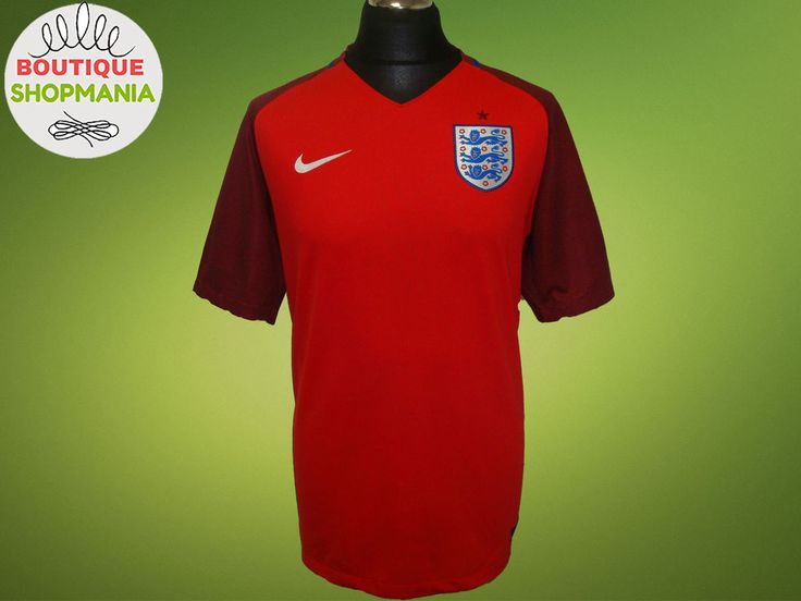 ENGLAND National Away 2016-2018 (L) Nike Football Shirt Jersey Camisa #Nike #England