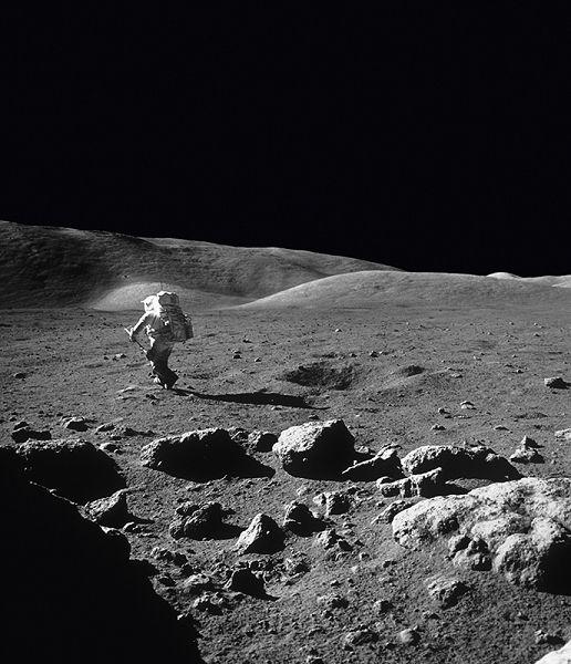 Photo Harrison Schmitt, Apollo 17 - Eugène Cernan