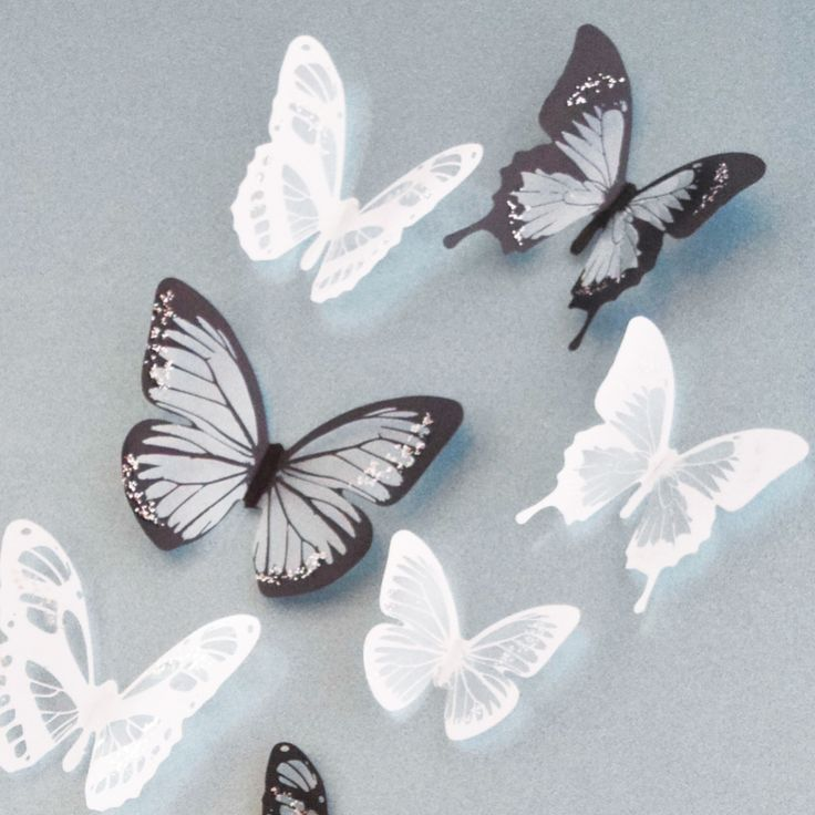 1000 ideas about butterfly wall decor on pinterest for Butterfly mural ideas