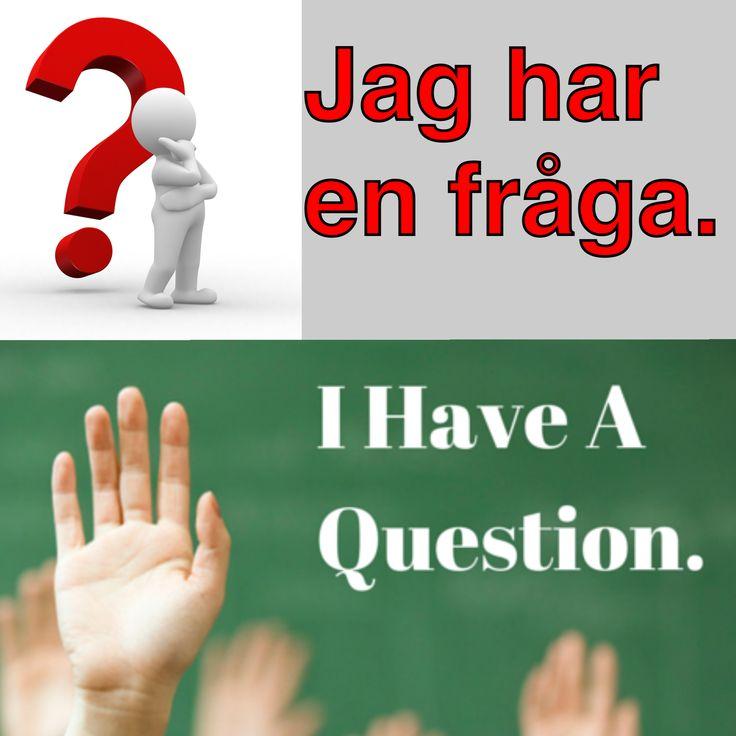 En fråga