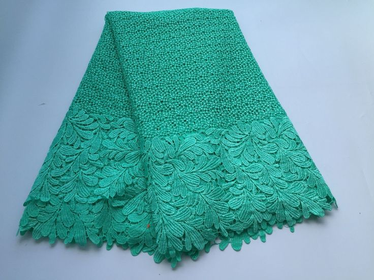 2016 High quality nigerian wedding african lace fabrics/most popular guipure cord lace fabric for wedding dress