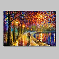 Hand Painted Modern Abstract Knife Landscape Oil Paintings On Canvas Wall Art Pictures For Home Decoration Ready To Hang – USD $ 113.98