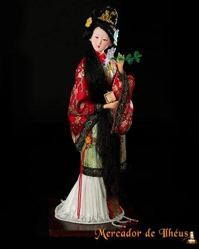 Shi Xiangyun Boneca Artesanal Rosto Porcelana Dinastia Qing. Frete Grátis Para Todo O Brasil