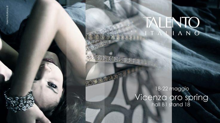 Talento Italiano invite to VicenzaOro Spring 2013