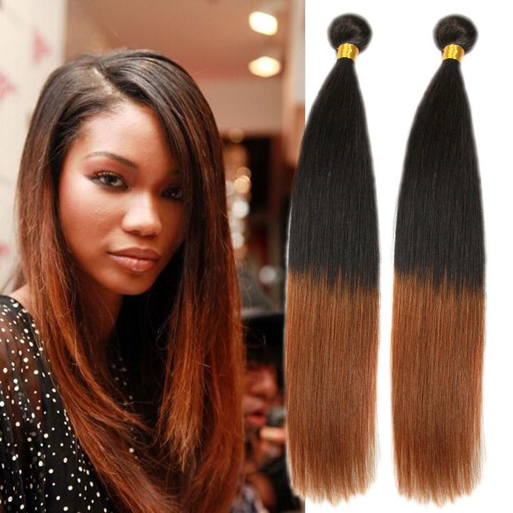1234 best high quality real human hair extension images on 3tone 1b3327 50gbundle ombre real human hair extension straight pmusecretfo Images