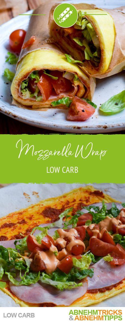 Low Carb Mozzarella Wrap – Mit NUR 2 Zutaten! Der Wrap-Ersatz – Rezepte