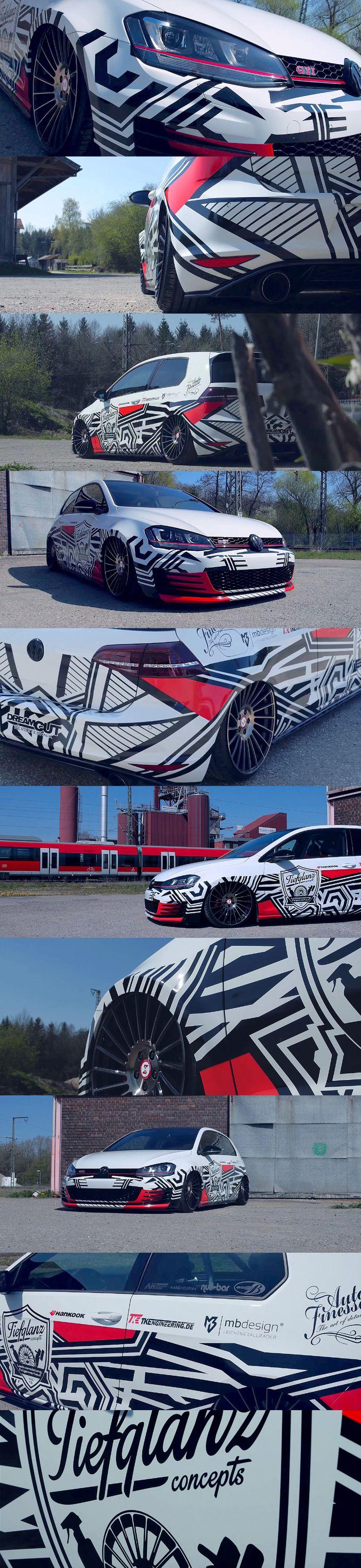 Dazzle Tiefglanz Concepts Golf GTI